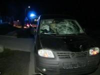 Accident mortal DN1C Baia Mare-Dej. Femeie spulberată de o mașină din Satu Mare (VIDEO)