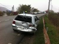 Accident produs din neatenție