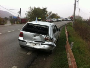 accident masina din spate