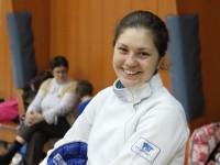 Amalia Tătăran, medalia de aur la Campionatul național de spadă