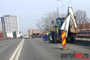 Marea asfaltare începe în martie la Satu Mare. Până atunci se fac plombări