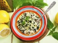 Învață să prepari o rețetă delicioasă de urzici cu orez