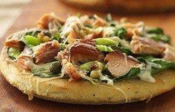 pizza cu somon