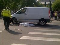 Accident mortal la Casa de Modă. Un bărbat a fost spulberat pe trecerea de pietoni (FOTO&VIDEO)