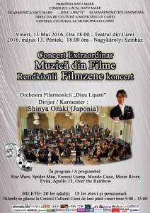 Afis Filarmonica Muzica de Filme FIN - press