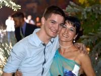 Beny împreuna cu mama lui, Dalma Illyes