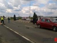 Accident grav pe Drumul Careiului. Un copil de 12 ani se zbate între viață și moarte la Spital (FOTO)