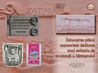 Existența milenară a Sătmarului, marcată printr-o placă memorială nouă