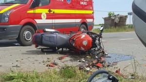 accident motociclist