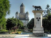 Pensionarii le-au pus gând rău brazilor din jurul statuii Lupoaica. Vor să-i taie