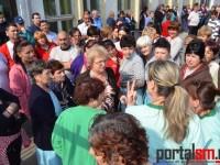 Protest spontan la Mondiala Satu Mare. Care au fost nemulțumirile muncitorilor (FOTO&VIDEO)