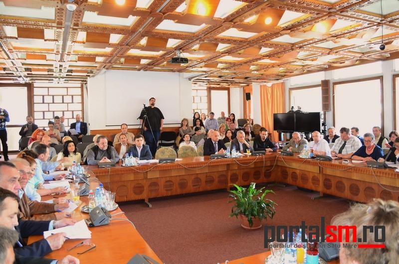 sedinta Consiliul Judetean Satu Mare (7)