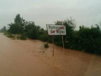 UPDATE Inundaţii la Homoroade. Drumul judeţean, blocat mai bine de o oră (FOTO)