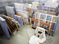 Rețea de traficanți de tablouri, destructurată la Satu Mare. Peste 600 de tablouri şi falsuri, confiscate (FOTO)