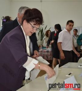 Alegeri parlamentare Satu Mare. Prezența la vot este de 31%