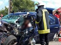 Accident în Doba. Trei victime din care una încarcerată (FOTO)