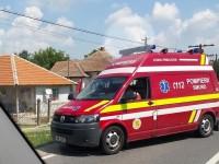 Accident grav soldat cu răniți. Două mașini s-au ciocnit la Doba (FOTO)