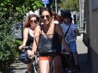 Maraton pentru tinerii străzii din Satu Mare: Au venit din Franţa pe bicicletă (FOTO)