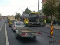 Trafic blocat pe Drumul Careiului. Șoferilor li se recomandă să evite zona (FOTO)