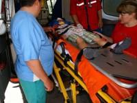 Doi minori, la un pas de moarte în urma unui accident