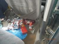 Contrabandiști lăsați fără marfă și mașini la Halmeu. Au fost confiscate de autoritățile române