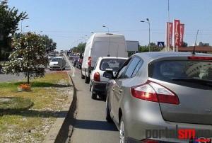Primăria renunţă la trei benzi pe sens pe podul Golescu