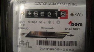 contor electric