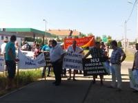 UPDATE Fermierii au ieșit în stradă! Protest cu tractoare și jeep-uri la APIA (FOTO& VIDEO)