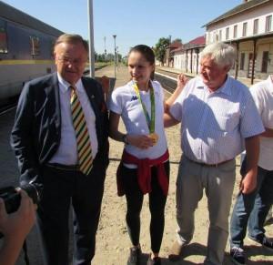 Sătmăreanca Simona Pop, campioană la Rio, felicitată de premierul Ungariei