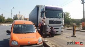 trafic blocat pod decebal (1)