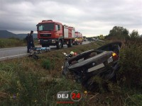 Un BMW de Satu Mare a făcut prăpăd! Trei vehicule acidentate (FOTO& VIDEO)