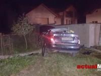 Accident grav cu trei răniți. Audi din Satu Mare făcut praf