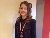 Ioana Roman, singurul elev de 10 din județ. Va fi recompensată de Guvern