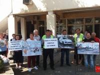 Codrenii au protestat în Centrul Nou (FOTO&VIDEO)