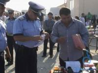 Razie a polițiștilor sătmăreni în târguri. Amenzi aplicate și bunuri confiscate