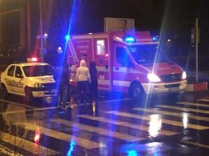 Accident grav lângă Satu Mare. O minoră, lovită pe trecerea de pietoni