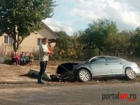 Accident la Mădăras. Două victime la spital (FOTO)