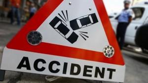 Accident în lanţ lângă Racşa. DN 19 a fost blocat