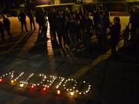Victimele tragediei de la Colectiv, comemorate la Satu Mare (FOTO)