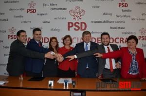 PSD Satu Mare îi susține necondiționat pe Dragnea și Grindeanu