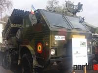 Tehnica militară prezentată azi, de Ziua Armatei, la Carei (FOTO)
