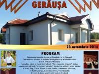 Va fi inaugurat Căminul Cultural din Gerăușa