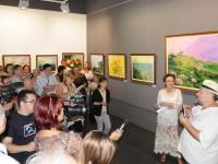 O sătmăreancă expune la Muzeul Național Cotroceni. Cine e artista (FOTO)