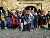 Halloween la Castel. Concurs la Medieșu Aurit (FOTO)