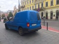 Şofer de Satu Mare, vedetă în Cluj (FOTO)