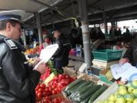Razie a polițiștilor în piețele sătmărene. Ce amenzi s-au dat