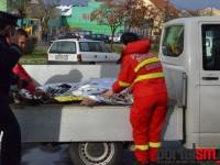Moarte subită la Satu Mare. Muncea la gardul unei școli când a căzut secerat (FOTO&VIDEO)