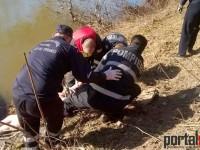 Cadavrul unei femei, scos din Someș. Crima este luată în calcul (FOTO&VIDEO)