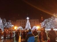 Sătmarul, luminat ca în basme de sărbători. Iluminatul ornamental a fost pornit (FOTO&VIDEO)