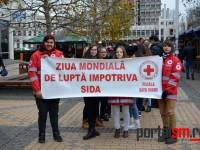 Marş anti SIDA la Satu Mare (FOTO)
